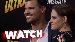 Тэйлор Лотнер, American Ultra: Kristen Stewart Jess Eisenberg, Taylor Lautner & Other Arrive to Premiere