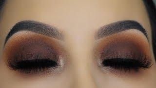Warm Brown Smokey Eye Tutorial + GIVEAWAY