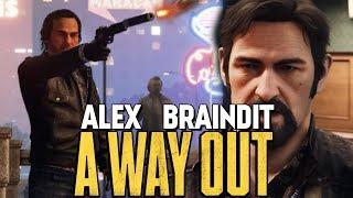 ОГРАБЛЕНИЕ МАГАЗИНА! ВЫНОС МОЗГА - A Way Out #7
