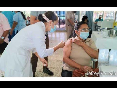 Continúa vacunación contra la Covid-19 en Managua