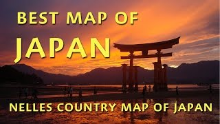 Best Map to Japan: Nelles Japan