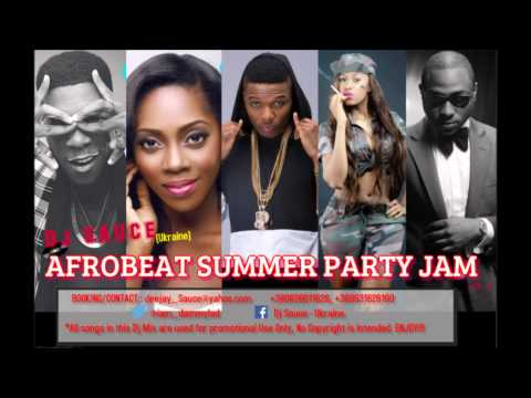 NAIJA AFROBEAT PARTY MIX 2015 I 2016 DJ SAUCE – UKRAINE