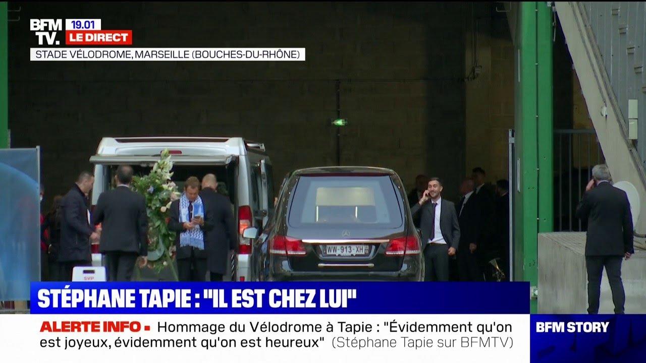 Revivez la cérémonie d'hommage des supporters de l'OM à Bernard Tapie en intégralité