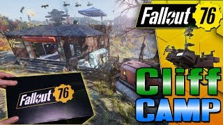 Best Cliffside Camp Location in #Fallout76 - + Mystery Box from Bethesda Unboxing