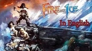 Fire & Ice  Cartoon Movie In English