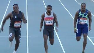 Trayvon Bromell 9.76 World Lead, Ferdinand Omanyala African Record 9.77!