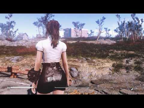 Fallout 4 Mod: Miranda Outfit - Mass Effect - CBBE by