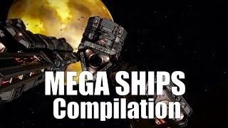 EliteDangerous:Megashipscompilationwilthlogsandcommentary*spoilers*