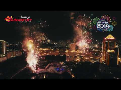 Spectacular Fireworks Display 2019 @ Sunway City Kuala Lumpur