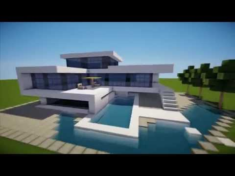 Modern house minecraft project for Case bellissime minecraft