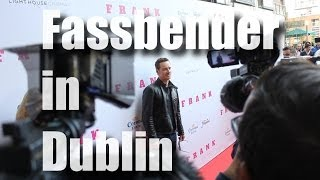 Майкл Фассбендер, Michael Fassbender at the premiere of Frank in Dublin
