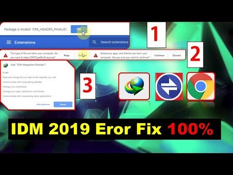 Download How To Add And Fix Idm Internet Download Manager To Googl