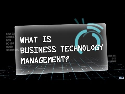 Business Technology Management (BTM) - Leading the shift in Business Technology Education