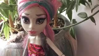 Моя коллекция кукол монстер хай и Барби