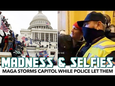 MAGA Storms Capitol While Police Let Them