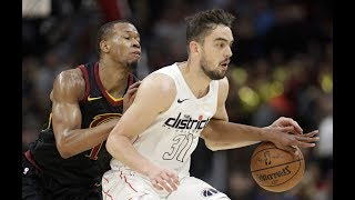 Tomas Satoransky vs Cavaliers Full Highlights (17PTS 4REB 8AST 2STL) February 22, 2018