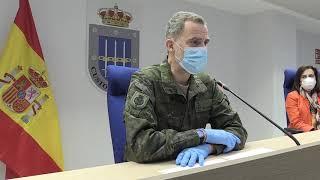Palabras S.M. el Rey en el Mando de Operaciones
