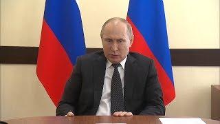 «Не плакать, а реветь хочется»: Владимир Путин о трагедии в Кемерове