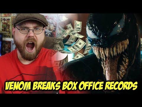 Venom Breaks Box Office Records!!!