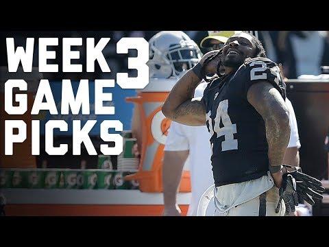Week 3 Game Picks in Under 3 Minutes ⏱🏈  | NFL Highlights