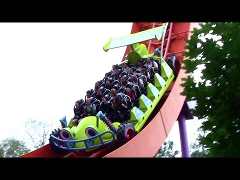 RC Racer off-ride HD Disneyland Paris Walt Disney Studios Park