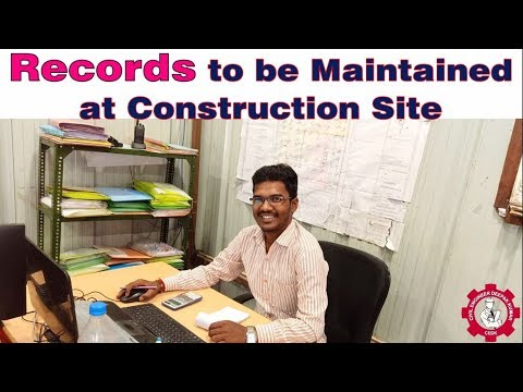 , title : 'Records to be Maintained at Construction Site | Register Maintain at Site |
