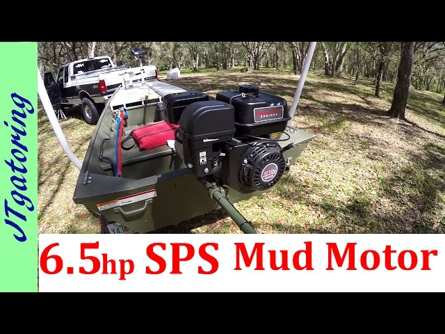 SPS Mud Motor Alumacraft 1436 LT - Quick review : Jon boat to Bass boat