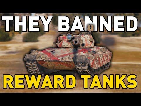 THEY BANNED REWARD TANKS! - World of Tanks