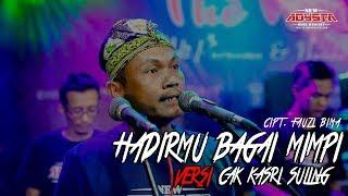 Cak Kasri Sangat menghayati menyanyikan lagu MERDU SEKALI...