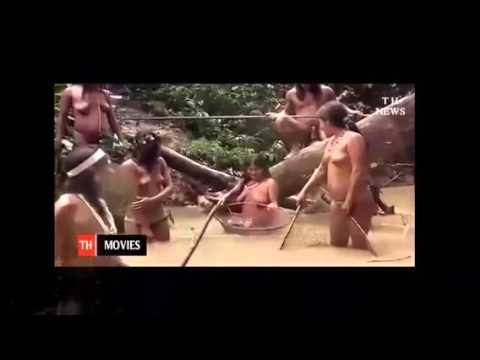 【原住民のおっぱい】リアルな原住民の全裸生活