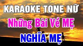 karaoke-lien-khuc-ve-me-danh-cho-tone-nu-nhac-song-bolero-tru-tinh-lk-nghia-me-trong-hieu