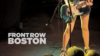 Front Row Boston | The Ting Tings – Only Love (Live)