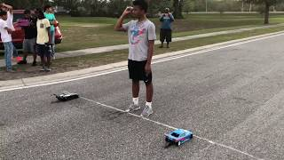 Testing And Tuning 132ft RC Drag Racing