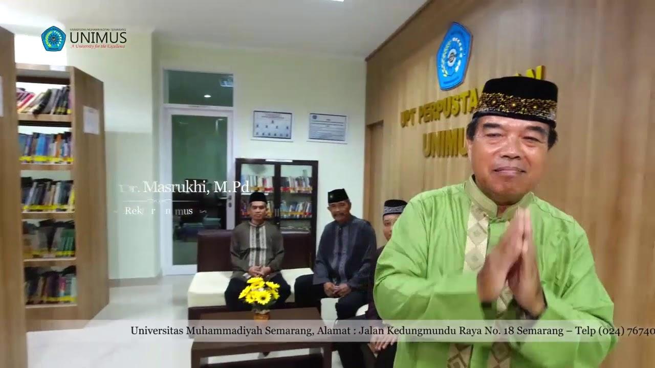 Unimus | Marhaban Yaa Ramadhan 1441 H