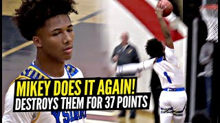 Mikey Williams DOMINATES Poor Defenders w/ 37 POINTS!! He's Averaging 41 Points Per Game!!