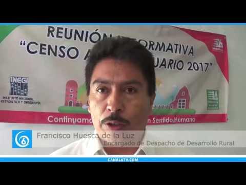 INEGI crea censo en Ixtapaluca para comuneros y ejidatarios