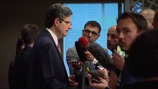 François Delattre (France) on the situation in the Middle East - Press Encounter (14 July 2017)
