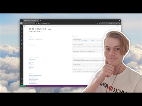 Code from Anywhere with pojde YouTube video