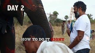 Baahubali @SETera - How to climb an elephant ?