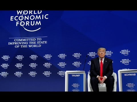 Trump warns on unfair trade and says US open for business