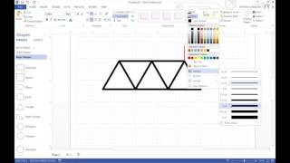 Making Simple Engineering Drawings in Visio