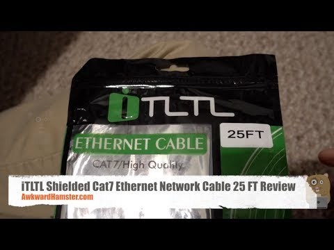 iTLTL Shielded Cat7 Ethernet Network Cable 25 FT Review