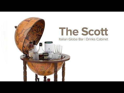 The Scott Italian Globe Bar by Zoffoli