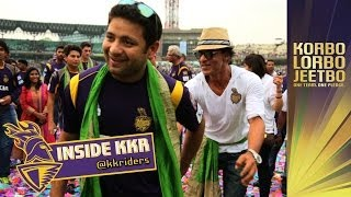 SHAH RUKH KHAN LIFTS THE CUP WITH THE KNIGHTS | Inside KKR Ep 46 | KKR winning ceremony celebrati...