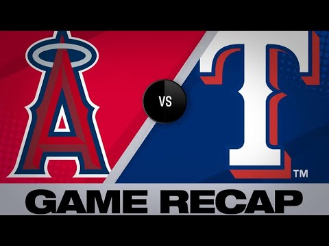 4/17/19: Choo propels Rangers to 5-4 win over Halos