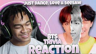 Gambar cover BTS (방탄소년단) - Trivia: Just Dance, Love, & Seesaw - LOVE YOURSELF: ANSWER ALBUM REACTION