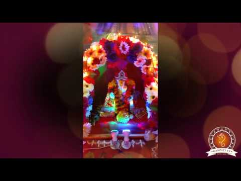 Aniket Jadhav Home Ganpati Decoration Video