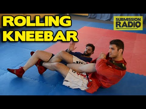 How to do a Rolling Kneebar for Sambo and MMA