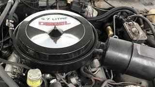 Why Oldsmobile's Diesel V8 Failed