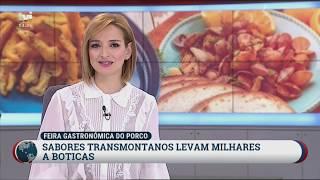 Reportagem | XXI Feira Gastronómica do Porco | 2019 | TVI | BOTICAS